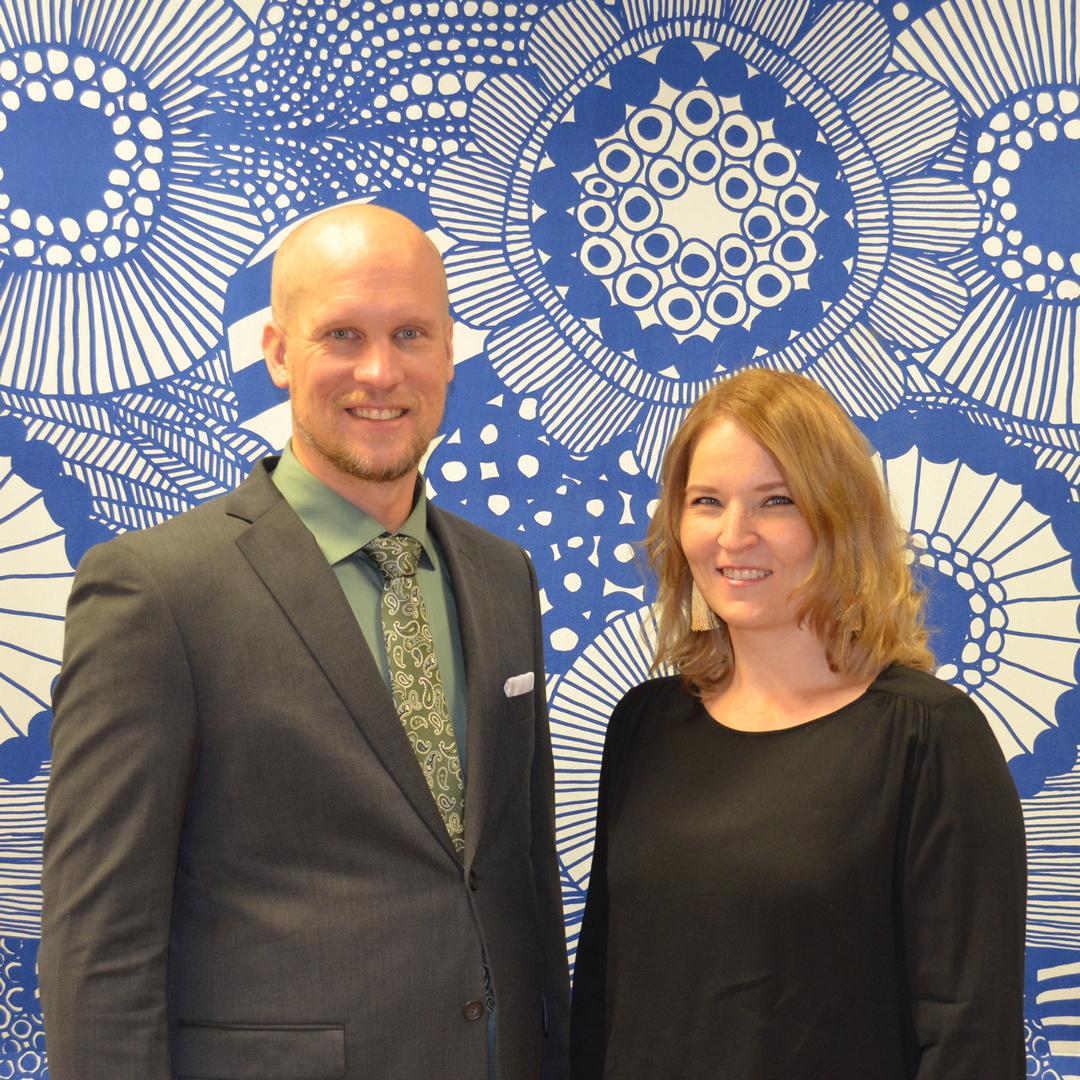 Juhani Katajamäki & Hanne Patomäki