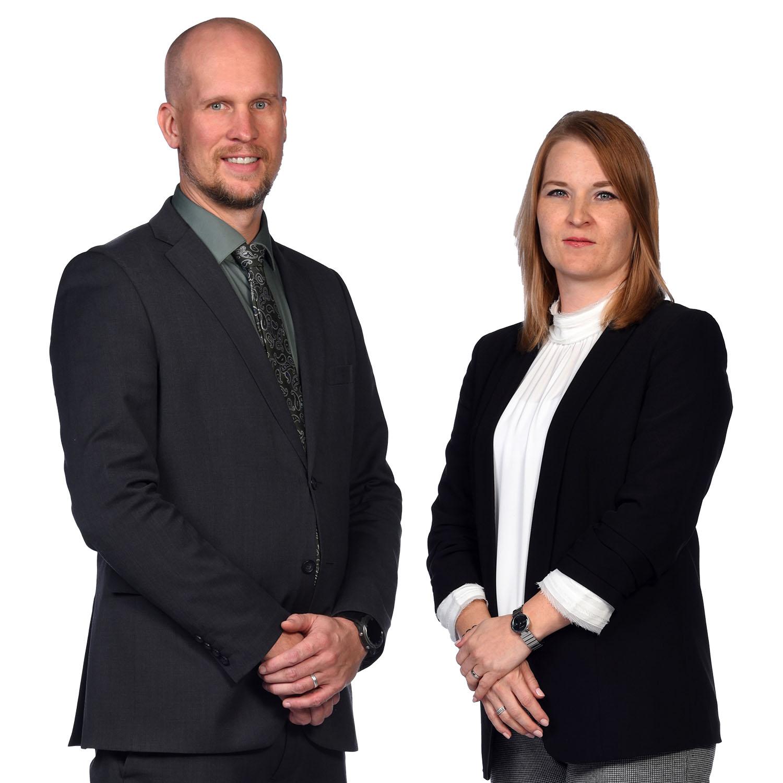 VPs Mr Juhani & Ms Hanne