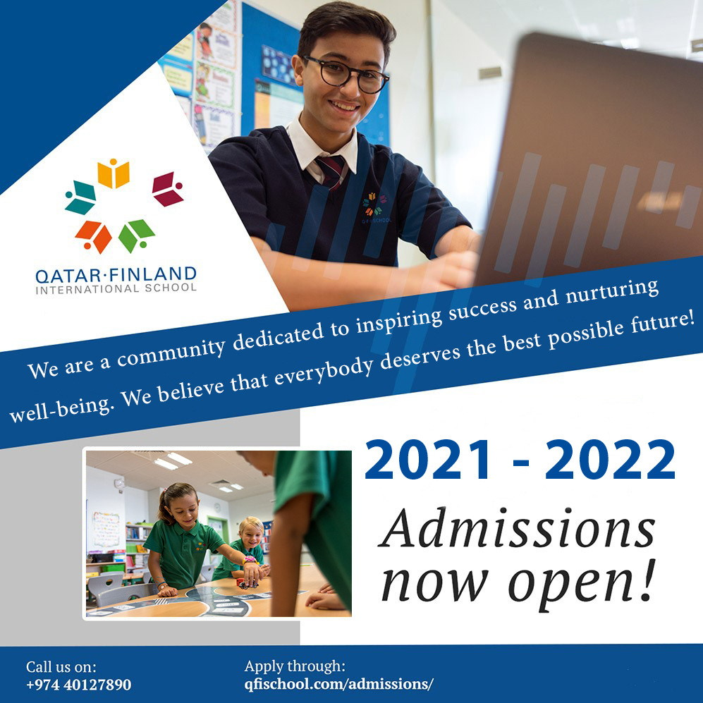 Q.F.I. School admissions for the Academic year 2021-2022 are open!